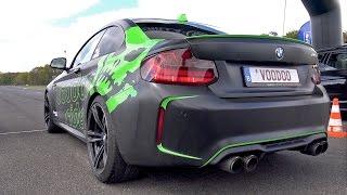 BMW M2 F87 w/ LOUD Akrapovic Exhaust!