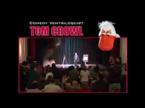 Comic Ventriloquist Tom Crowl