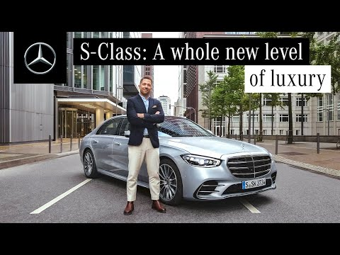 Test Drive with the New S-Class: The Flagship of Mercedes-Benz