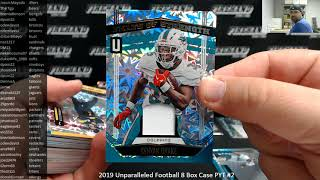 8/17/2019 2019 Unparalleled Football 8 Box Case PYT #2