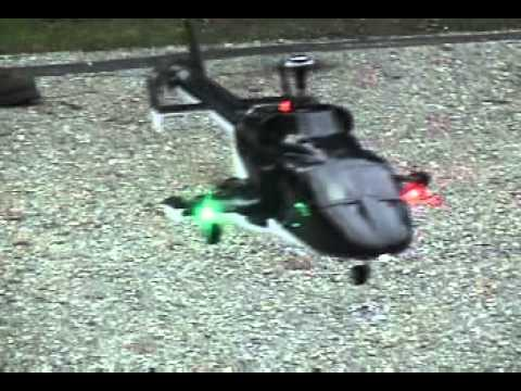 walkera v450d01 airwolf with (just-heli) navigation lights and retract speed reducer - UCrcnEjc79UlSns5ozZXL8Mg