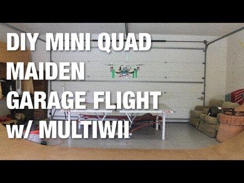 DIY Mini Quadcopter Maiden Garage Flight w/ MultiWii Flight Controller - UC_LDtFt-RADAdI8zIW_ecbg