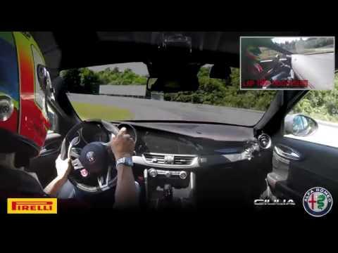 Alfa Romeo Giulia Quadrifoglio: record al Nurburgring!