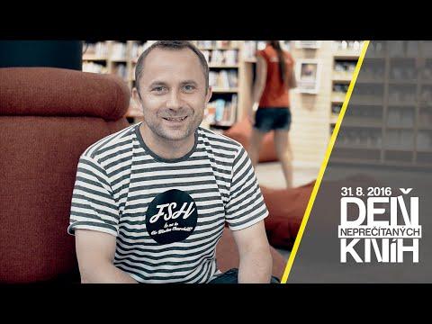 Michal Kaščák a Deň neprečítaných kníh