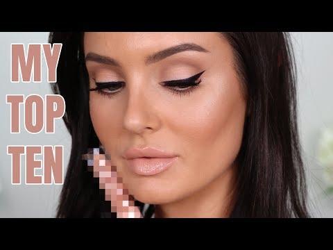 My Top 10 Nude Lipglosses! Bare Lip Favourites \ Chloe Morello