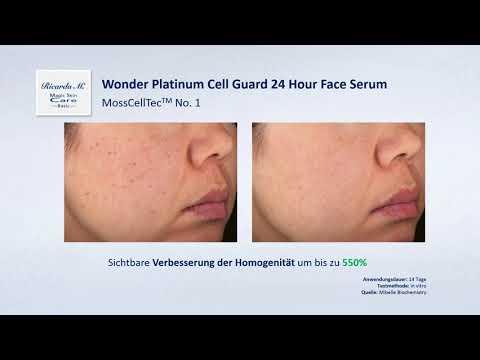MSC Basic Wonder Platinum Cell Guard 24 Hour Face Serum von Ric -  Homogenität