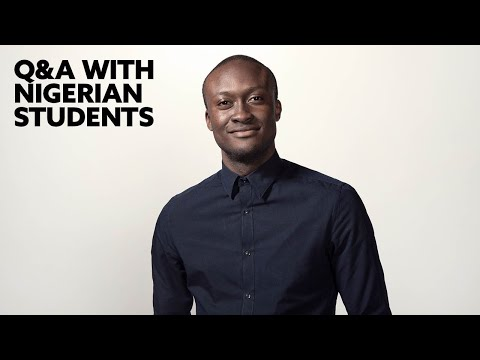Northumbria Q&A with Nigerian students