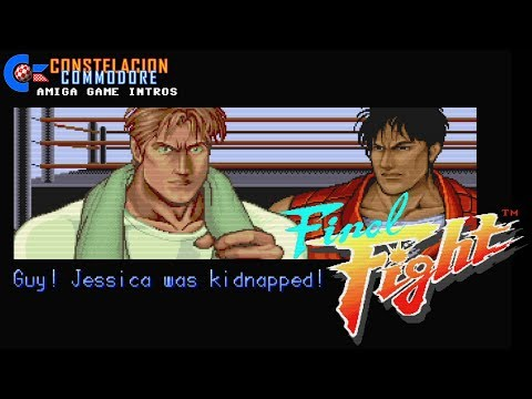 Amiga Game Intro: Final Fight (Creative Materials/U.S.Gold,1991)