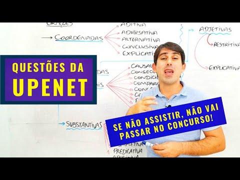Questões para PMPE e Prefeitura do Recife (Banca UPENET)