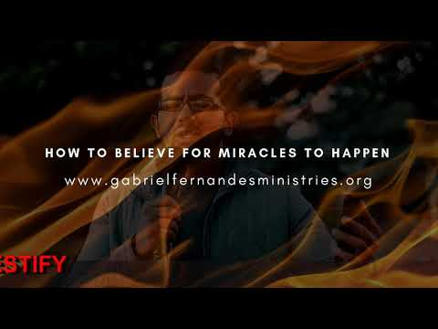 HOW TO BELIEVE FOR MIRACLES TO HAPPEN, Daily Promise and Powerful Prayer