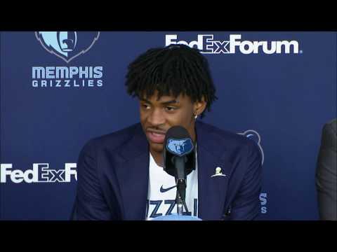 Memphis Grizzlies Introduce #2 Overall Pick Ja Morant