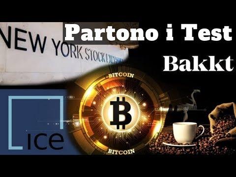 Bakkt: Partono i Test | Futures Fisici di Bitcoin