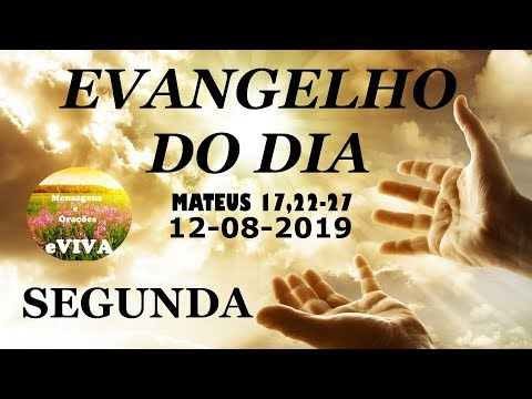 EVANGELHO DO DIA 12/08/2019 Narrado e Comentado - LITURGIA DIÁRIA - HOMILIA DIARIA HOJE