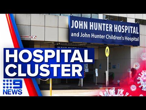 New COVID-19 outbreak inside a Newcastle hospital | Coronavirus | 9 News Australia