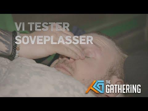 TG18: CIA Tester soveplasser