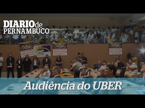 Audi�ncia discute o Uber na C�mara dos Vereadores