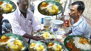 Cheapest Roadside Unlimited Meals Indian Street food #Streetfood/B24