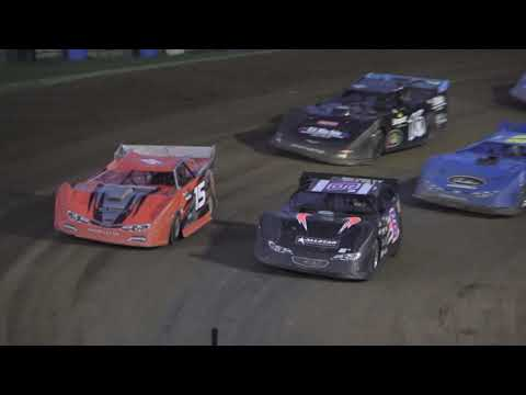 Late Model A-Feature at Crystal Motor Speedway, Michigan on 07-10-2021!! - dirt track racing video image