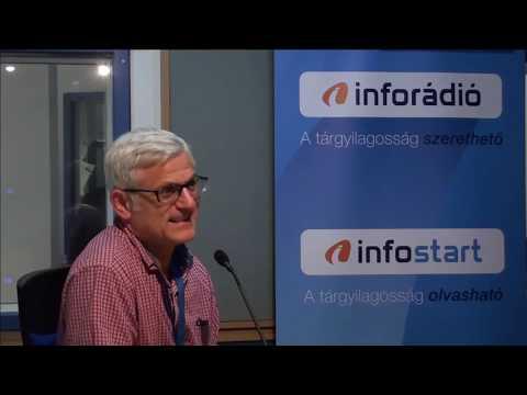 InfoRádió - Aréna - Jelasity Radován - 1. rész - 2018.11.22.