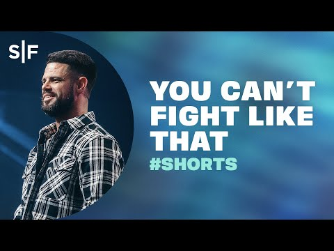 You Can't Fight Like That #Shorts  Steven Furtick