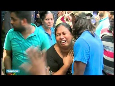Dodelijke aanslagen Sri Lanka: dashcam filmt explosie bij kerk - RTL NIEUWS