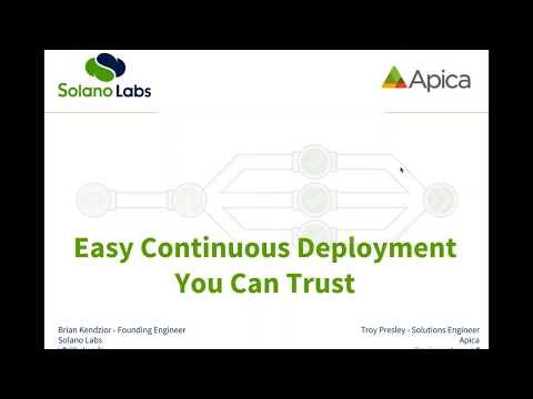 Webinar l Easy continuous deployment you can trust