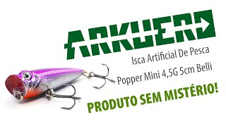Isca Artificial De Pesca Popper Mini 4,5G 5cm Belli