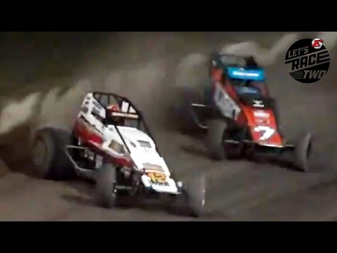 Insane Finish At Eldora Speedway's #LetsRaceTwo - dirt track racing video image