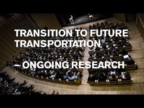 Ongoing transport research at a glance