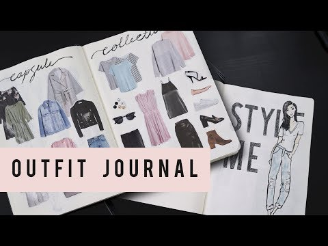 OUTFIT PLANNING BULLET JOURNAL IDEAS | ANN LE