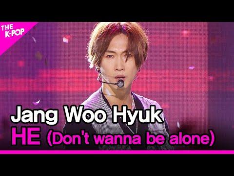 Jang Woo Hyuk, HE(Don't wanna be alone) [THE SHOW 200908]