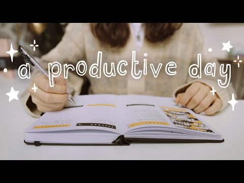 get productive with me (a day in my life)