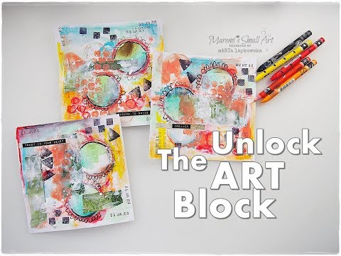 Unlock The ART block Exercise #1 Envelopes ♡ Maremi's Small Art ♡