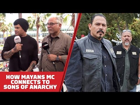 How Mayans MC Connects to Sons of Anarchy - Comic Con 2018 - UCKy1dAqELo0zrOtPkf0eTMw