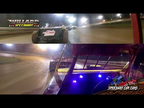 Untitled#42A Jamey Adems - Sport Mod - 8-7-21 Willard Speedway - In-Car Camera - dirt track racing video image