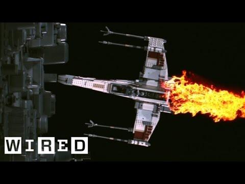 Star Wars Lego X-Wing Fighter vs. Death Star   Star Wars Lego Destruction - UCftwRNsjfRo08xYE31tkiyw