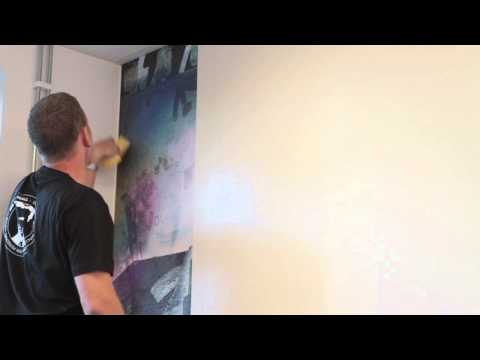 How to Hang Wallpaper - Mr Perswall Hanging Instructions