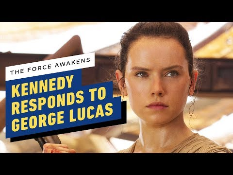 Lucasfilm President Responds to George Lucas' Disappointment of Star Wars: The Force Awakens - UCKy1dAqELo0zrOtPkf0eTMw