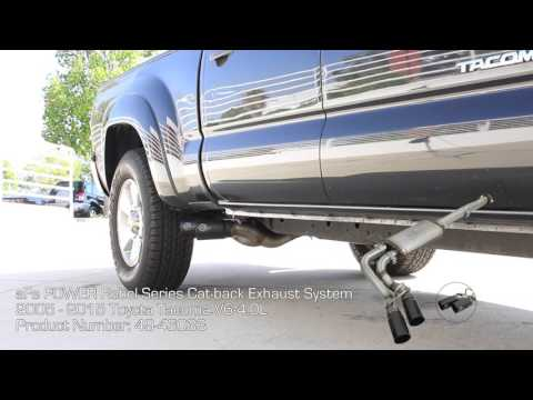 "aFe POWER 2005-2015 Toyota Tacoma 3"" Stainless Cat-Back Exhaust System Sound Clip"