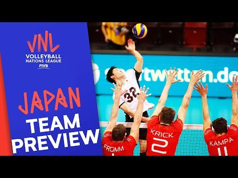 Japan   Team Preview   Volleyball Nations League 2019