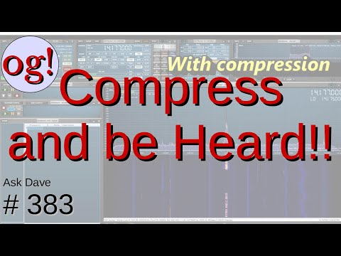 How to set up Compression on your HF radio (#383)
