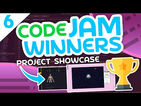 Code Jam Project Showcase #6 - The Best Programming Projects Yet?
