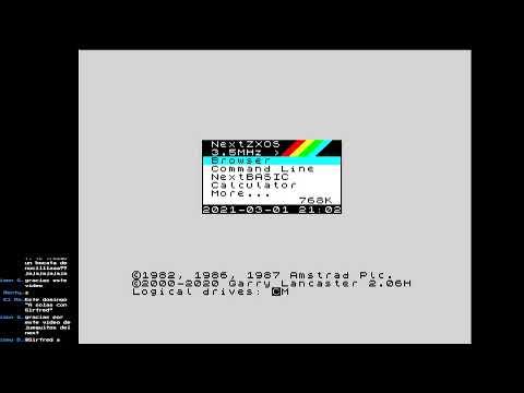 Pruebas audio ZX Spectrum NEXT