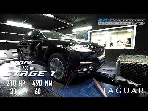 Jaguar F-Pace 2.0D Stage 1 By BR-Performance