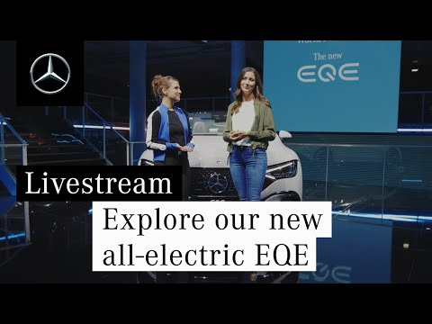 Explore our new all-electric EQE