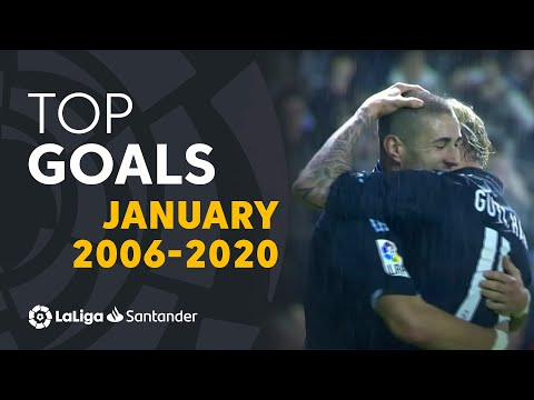 BEST GOALS January 2006/2020 - Maxi Rodríguez, Benzema, Cristiano Ronaldo, Messi & more