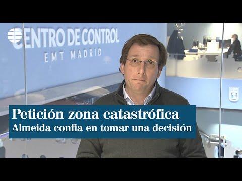 Almeida confía en tomar mañana decisión sobre petición de zona catastrófica