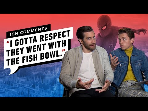 Tom Holland and Jake Gyllenhaal Respond to IGN Comments - UCKy1dAqELo0zrOtPkf0eTMw