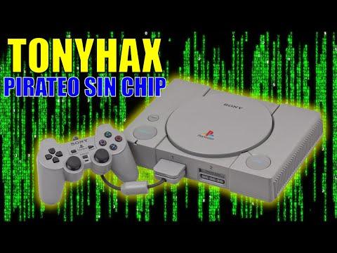 TONYHAX Carga juegos en la PSX sin chip - xploit - playstation 1 - backups