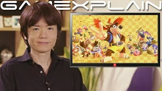 Smash Bros. Ultimate - Sakurai Discusses Creation Process of the CG Character Reveal Trailers